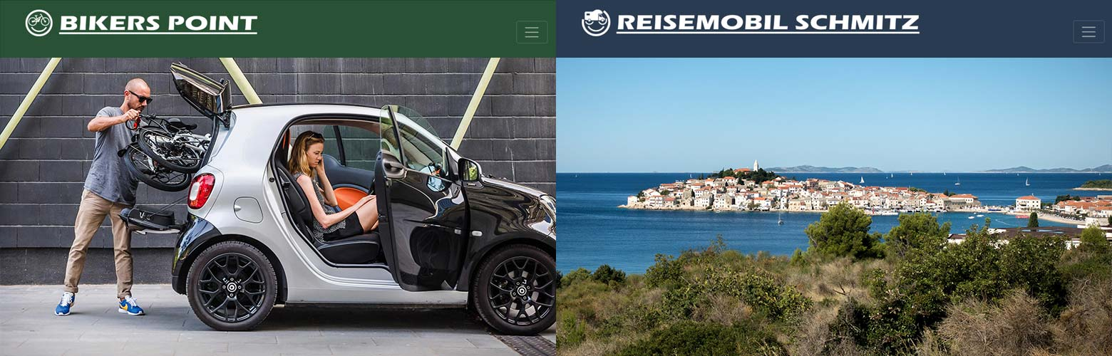 Websites Reisemobil Schmitz & Bikers Point